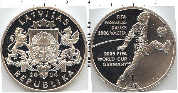 Каталог монет - Латвия 1 лат