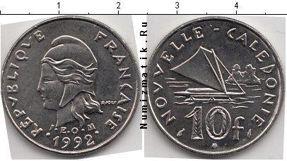 Каталог монет - Новая Каледония 10 франков