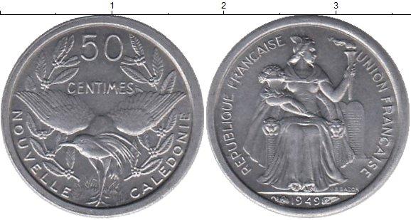 Каталог монет - Каледония 50 сантим