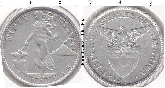 Каталог монет - Филиппины 50 сентаво