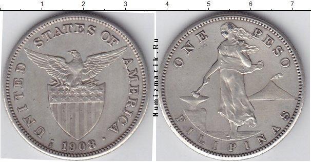 Каталог монет - Филиппины 1 песо