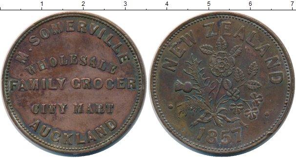 Каталог монет - Новая Зеландия 1 пенни