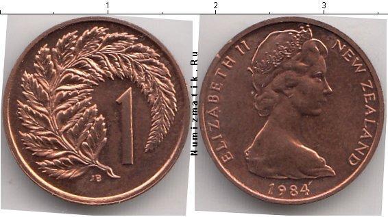 Каталог монет - Новая Зеландия 1 цент