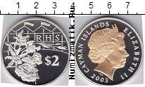Продать Монеты Каймановы острова 2 доллара 2003 Серебро
