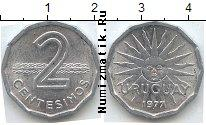 Каталог монет - монета  Уругвай 2 сентесимо