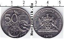Каталог монет - монета  Тринидад и Тобаго 50 центов