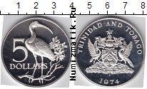 Каталог монет - монета  Тринидад и Тобаго 5 долларов