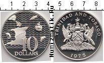 Каталог монет - монета  Тринидад и Тобаго 10 долларов