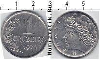 Каталог монет - монета  Бразилия 1 крузейро