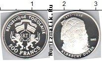Каталог монет - монета  Того 500 франков
