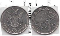 Каталог монет - монета  Намибия 50 центов