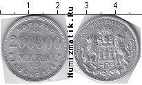 Каталог монет - монета  Гамбург 200000 марок