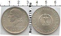 Продать Монеты Веймарская республика 3 марки 1929 Серебро