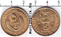 Каталог монет - монета  Мавритания 5 угия