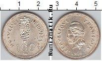 Каталог монет - монета  Новые Гебриды 100 франков
