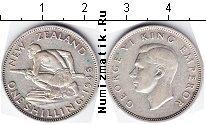 Каталог монет - монета  Новая Зеландия 1 шиллинг
