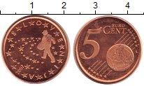 Продать Монеты Словения 5 евроцентов 2007 сталь с медным покрытием