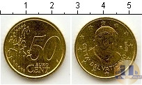 Каталог монет - монета  Ватикан 50 евроцентов