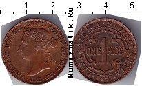 Каталог монет - монета  Восточная Африка 1 пайс