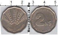 Каталог монет - монета  Уругвай 2 песо