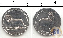 Каталог монет - монета  Конго 25 сентим