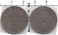 Каталог монет - монета  Саар 100 франков