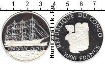 Каталог монет - монета  Конго 1000 франков