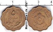 Каталог монет - монета  Ливия 5 миллим