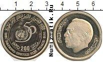 Каталог монет - монета  Марокко 200 дирхам