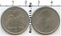 Каталог монет - монета  Норвегия 50 эре