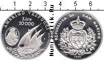 Каталог монет - монета  Сан-Марино 10000 лир
