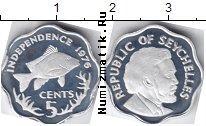 Каталог монет - монета  Сейшелы 5 центов