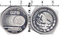 Каталог монет - монета  Мексика 25 песо