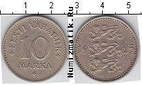Каталог монет - монета  Эстония 10 марок