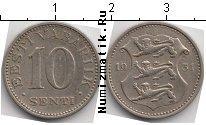 Каталог монет - монета  Эстония 10 сенти