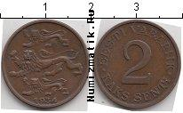 Каталог монет - монета  Эстония 2 сенти