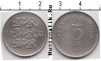 Каталог монет - монета  Эстония 5 марок