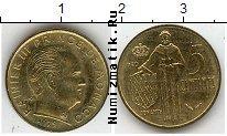 Каталог монет - монета  Монако 5 сентим