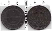 Каталог монет - монета  Сардиния 5 чентезимо