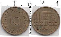 Каталог монет - монета  Саар 10 пфеннигов