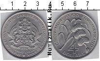 Каталог монет - монета  Сент-Люсия 4 доллара