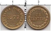 Каталог монет - монета  Доминиканская республика 1 сентаво