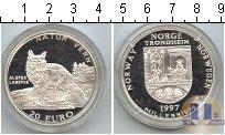 Каталог монет - монета  Норвегия 20 евро
