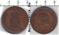 Каталог монет - монета  Португальская Индия 1/2 таньга