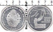 Каталог монет - монета  Уругвай 1000 песо