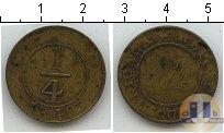 Каталог монет - монета  Доминиканская республика 1/4  реала