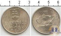 Каталог монет - монета  Словакия 100 крон