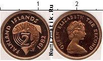 Каталог монет - монета  Фолклендские острова 1/2 пенни