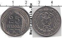 Каталог монет - монета  Германия 25 пфеннигов