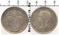 Каталог монет - монета  Колумбия 50 сентаво